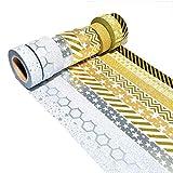 K-LIMIT 10 Set Washi Tape rouleaux de ruban adhésif décoratif masking tape Scrapbooking DIY Noël Christmas Idées cadeaux Idées cadeaux 9441
