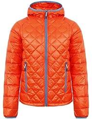 ICEPEAK Jacke Sion - Cortavientos para mujer, color naranja, talla DE: 50