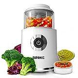 Duronic CH500 Zerkleinerer elektrisch/Universalzerkleinerer / Multizerkleinerer/Küchenmaschine mit 500W Motor und integriertem Schaber - 400ml Behälter -für Obst/Gemüse / Kräuter/Nüsse / Gewürze