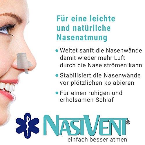 Nasivent Tube Plus Anti Schnarch Mittel (Neues Model) - Größe S/8mm - 2er Pack (Mit Reisebox) - 8