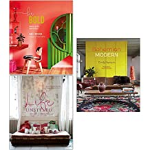 Emily Henson Collection 3 Books Set (Be Bold, Life Unstyled, Bohemian Modern)