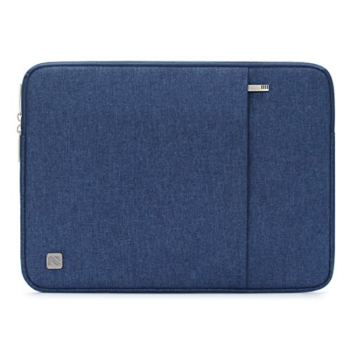 "NIDOO 13.3 Zoll Wasserdicht Laptop Sleeve Case Laptophülle Notebook Hülle Tasche für 13"" MacBook Air/13.3"" Samsung Notebook 9 Pro/2017 Neu Microsoft 13.5"" Surface Laptop, Blau"