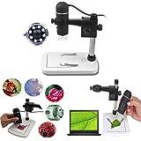 Itian 5MP Microscopio Digitale USB Microscopio, Fotocamera di Ingrandimento 20 - 300X per Windows XP/VISTA /WIN7 /Mac OSX