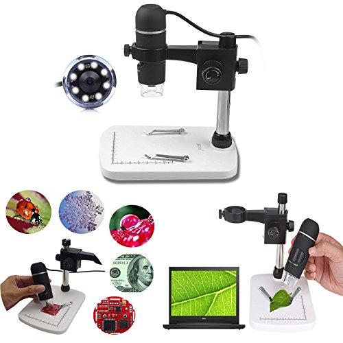 Itian 5 Megapíxeles USB Microscopio Digital Microscopio con Video 20x -...
