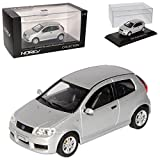Norev Fiat Punto Sporting Typ 188 Silber 1999-2007 Ab Facelift 2003 1/43 Modell Auto
