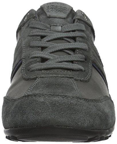 Geox U Wells C, Baskets Basses homme Grau (DK GREYC9002)