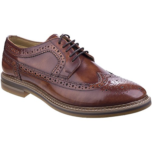 base-london-mens-turner-hi-shine-tan-derby-brogue-shoes-uk-11-eu-45