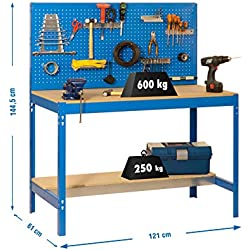 Simonrack 448100045126012 Kit bt-2 1200 bleu/bois, Azul y Madera