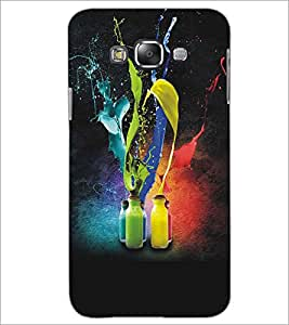SAMSUNG GALAXY GRAND 3 COLOR BOTTLES Designer Back Cover Case By PRINTSWAG