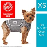 Comfort Zone Calming Vests for Dogs, for Thunder and Anxiety, Extra Small