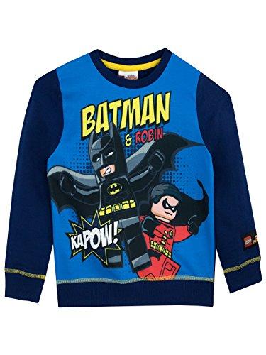 Lego batman - felpa per ragazzi - lego batman - 7 - 8 anni