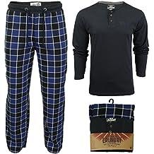 Tokyo Laundry - Pantalón de Pijama - Cuadrados - Manga Larga - para Hombre
