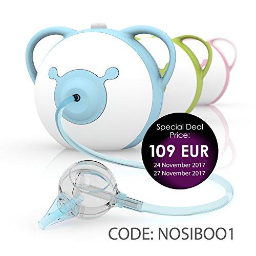 Nosiboo Mouche Bébé Électrique Bleu