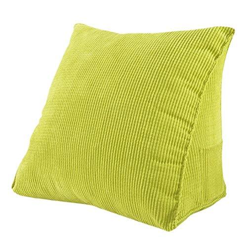 diuspeed Gene risches Cojín triangular, respaldo cojín Respaldo Apoyo sofá cama decoración