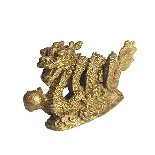 Zoom IMG-2 brass statu mini millennium dragon