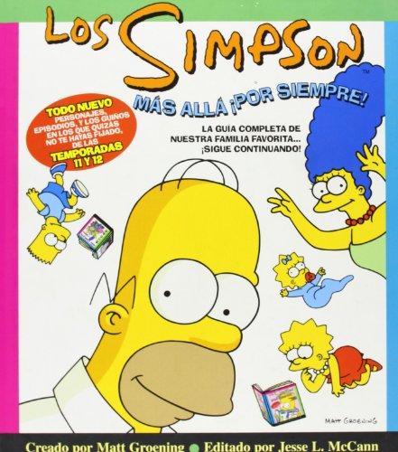 LOS SIMPSON MAS ALLA POR SIEMPRE: GUIA TV DE LAS TEMPORADAS 11 Y 12
