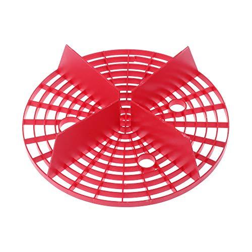 Groß Netzwerk zur Isolierung Schutz Werkzeug reinigen Sand Filter Waschen von Autos Schwamm Washboard Grit Guard Einfügen(26cm,rot)