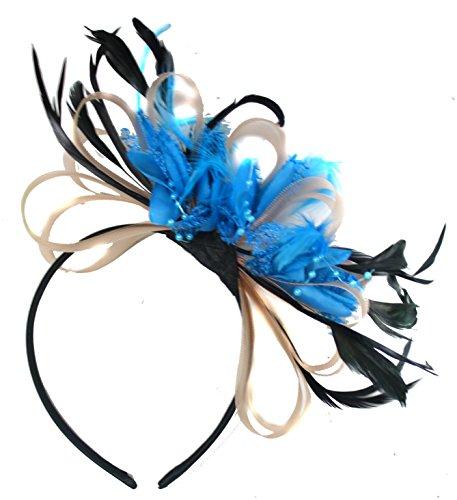 salmon-nude-pink-and-aqua-blue-net-hoop-feather-hair-fascinator-headband-wedding-royal-ascot-races