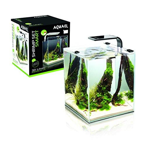 Aquael Aquarium Shrimp Set SMART LED, Komplettset mit moderner LED-Beleuchtung (schwarz, 30 Liter) - 3