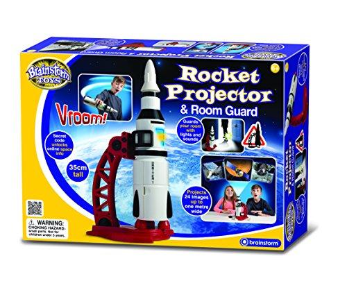 Brainstorm Toys Raketen-Projektor und Bewegungsmelder