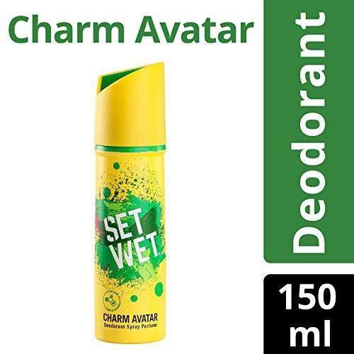 Set Wet Charm Avatar Deodorant Spray Perfume, 150ml