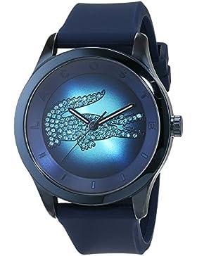 Lacoste Damen-Armbanduhr Analog Quarz Silikon 2000919