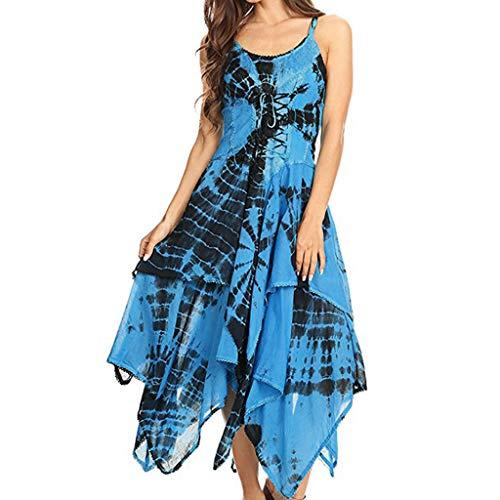 MAYOGO Kleid Kariertes Damen Halbarm Schnüren Kleid Gitter Schwarz Zipfel Alltag Kleider (Baby Mädchen Für Velvet-kleid)