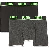 Puma Herren Basic Boxer New Waistband 2p Unterhose