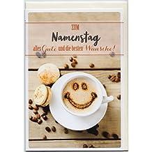 Suchergebnis auf Amazon.de für: namenstag - Karten / Papierprodukte ...