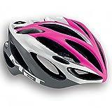 MET Casco De Bicicleta INFERNO UL,pink blanco gris, 58-61