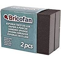 Cofan 09720852 - Pack de 2 esponjas tacos de lija