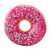 Barbarer Donut Kissen Weich Plüsch Microvelour Dekokissen Zierkissen (E)