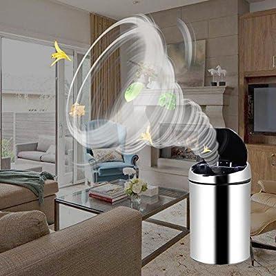 prettygood7 Abfalleimer, Edelstahl, mit Sensor, kabellos, Induktion, USB-Aufladung von prettygood7 auf Gartenmöbel von Du und Dein Garten