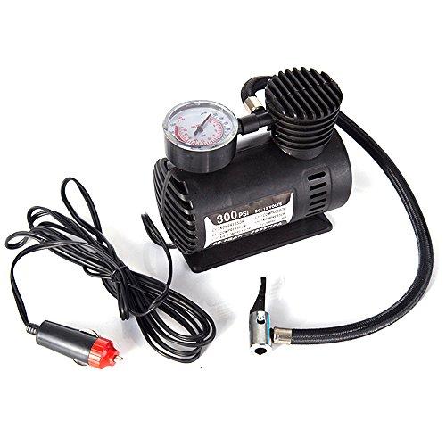 KKmoon Pompe Elettriche Aria Elettricar Portatile con 12V 300PSI del Compressore per Automobile, Motociclo, Bicicletta