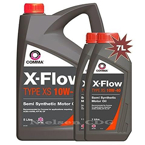 Comma XFXS5L X-FLOW TYPE XS 10W-40 Motor Oil 7L