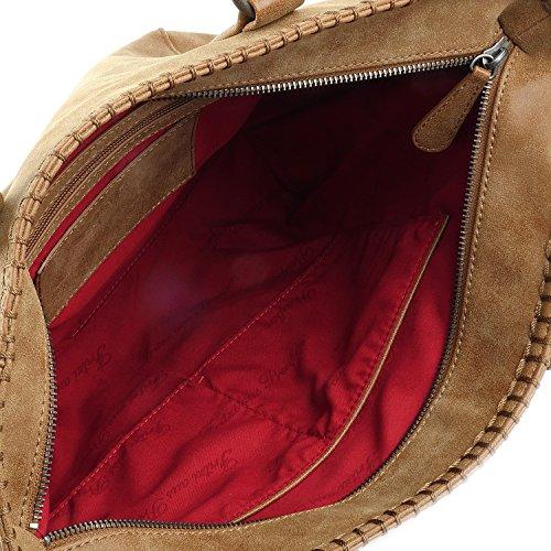 Fritzi aus Preußen Inke Vintage Shopper Tasche 42 cm terra1