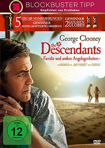 The Descendants - Familie und andere Angelegenheiten (Koma-dvd)