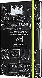 Moleskine Notebook Basquiat Edizione Speciale, Taccuino Nero con Copertina Rigida, Chiusura ad Elastico e Pagina Bianca, Dimensione Large 13 x 21 cm, 240 Pagine
