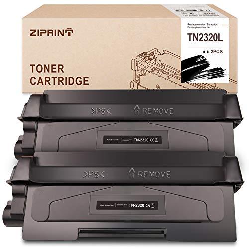 ZIPRINT 5200 Pagina Compatibile per Brother TN2320 TN 2320 Toner per Brother MFC-L2700DW MFC-L2700DN HL-L2340DW HL-L2360DN DCP-L2500D DCP-L2540DN DCP-2560DW HL-L2365DW MFC-2720DW MFC-2740DW
