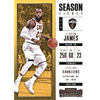 2017–18Dépasse Panini Season Ticket # 20Lebron James Cleveland Cavaliers Basketball carte