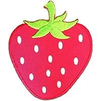 Aufnäher Patches Aufbügeln pink Bügelbild Grapefruit Frucht Obst Ø5cm
