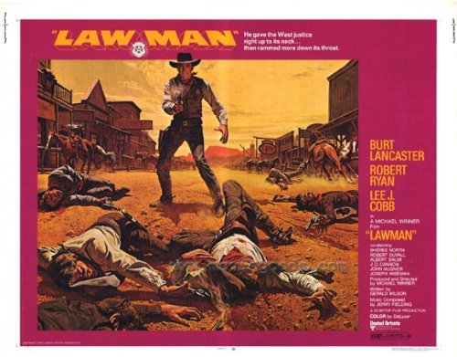 Lawman Plakat Movie Poster (22 x 28 Inches - 56cm x 72cm) (1971) Half Sheet
