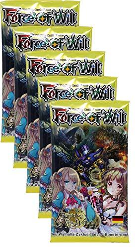 Force of Will - Fremde Walhalla - 5 Booster - Deutsch