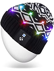 Light Up Beanie Hat,Mydeal Unisex Men Women Premium LED String Knit Cap for Indoor and Outdoor, Skiing, Snowboard, Walking, Leisure, Watching Game, Holiday, Parties, Bar, Celebration, Christmas Gifts