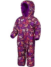 Columbia Snuggly Bunny Bunting - Mono con aislamiento para niña multicolor, talla 6/12