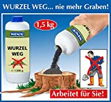 WENKO Wurzelweg, Wirksames Wurzelentferner Granulat, 1500 g