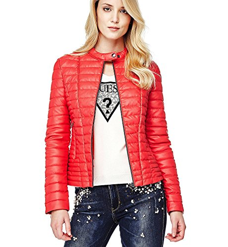 Guess - Abrigo - para Mujer Rojo M