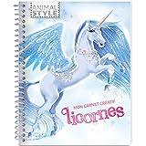Animal Style - Mon carnet créatif - Licornes...