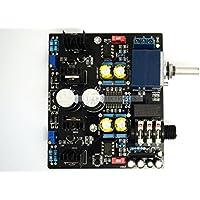 Q-BAIHE TPA6120A NE5534 amplificatore per cuffie stereo Board + ADC + UPC1237 Circuito di protezione