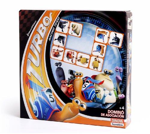 DreamWorks - Turbo, dominó de asociación (Dinova D0553001)